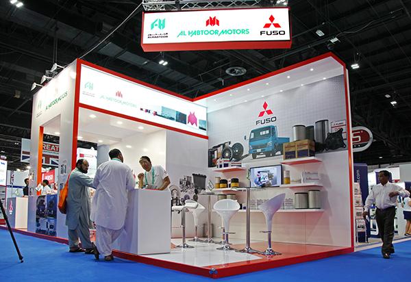 Al Habtoor Motors presents a wide range of Genuine Parts for Mitsubishi & FUSO vehicles at Automechanika Dubai 2014
