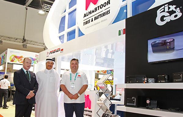 Al Habtoor Motors – Tires & Batteries Division presents key international tire and battery brands in Automechanika Dubai 2014