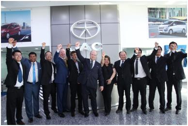 Al Habtoor opens first JAC Motors showroom in Dubai