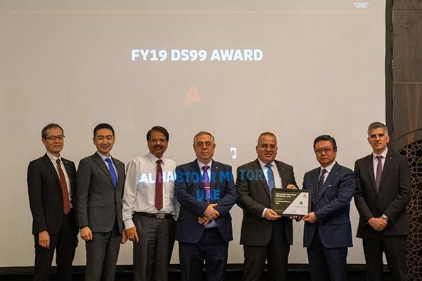 Al Habtoor Motors Mitsubishi Awarded 'Class A' Certification